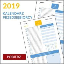 Kalendarz Przedsiębiorcy 2019