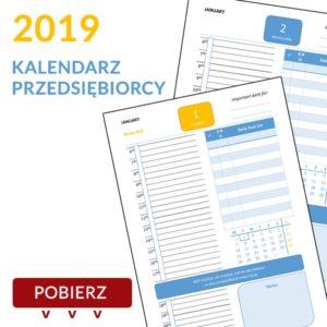 kalendarz przesiębiorcy 2019