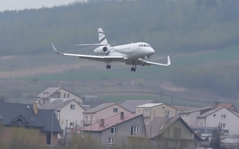 Michał Sołowow - samolot